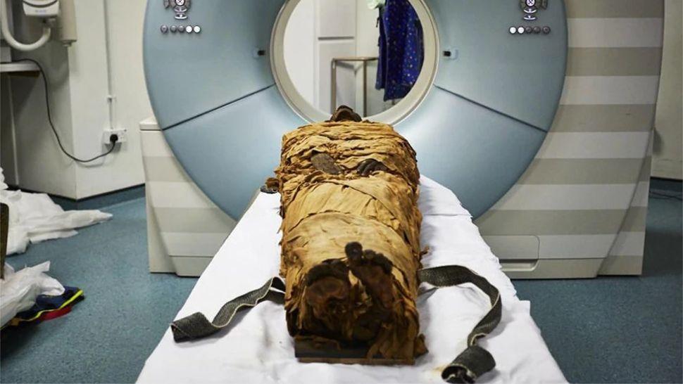 ricreata la voce di una mummia