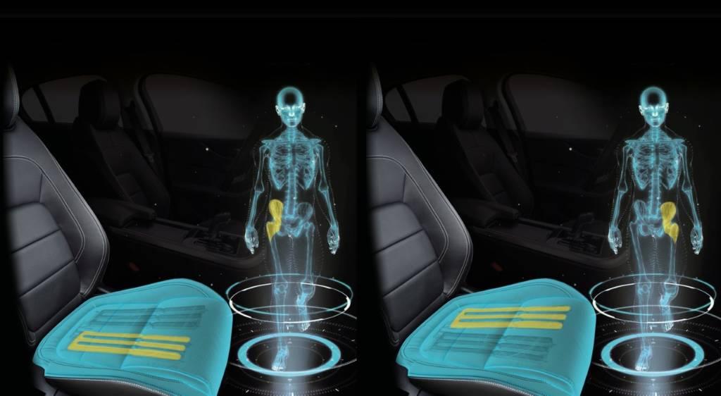 I sedili simulano la camminata, l'ultima novità arriva da Jaguar Land Rover