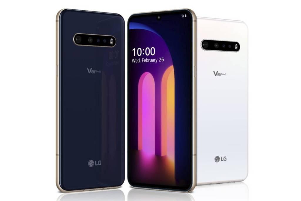LG V60 ThinQ 5G cover