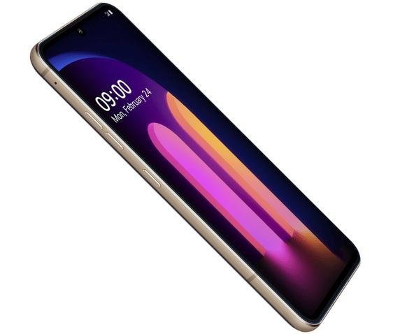 LG V60 ThinQ 5G display