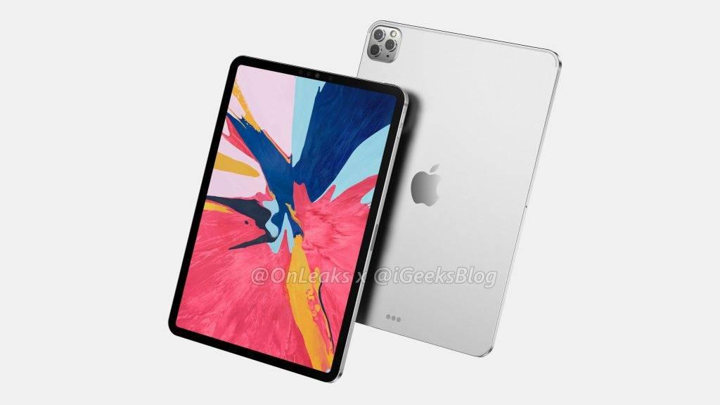 iPad Pro 2020 OnLeaks