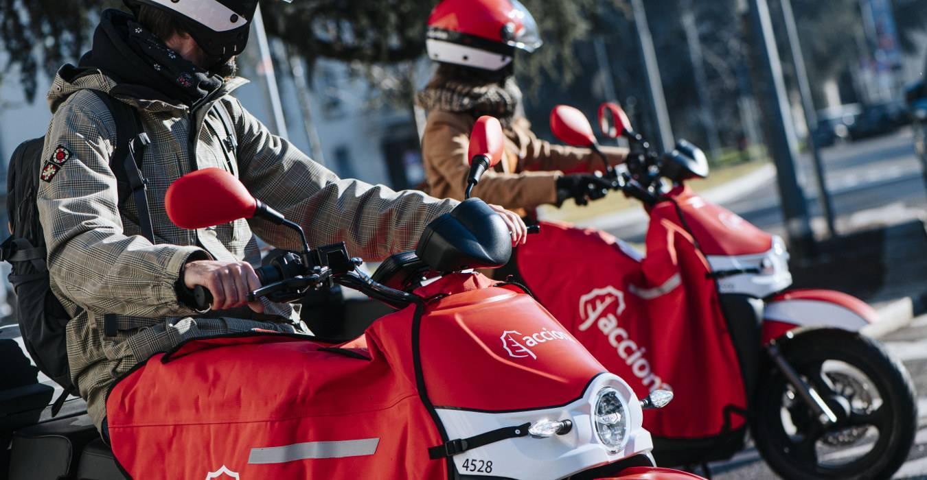 Scooter sharing elettrico: un nuovo servizio di condivisione a Milano