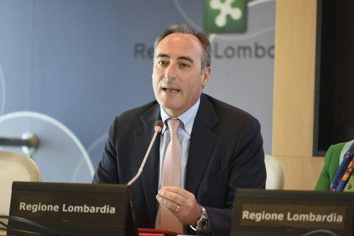 Giulio Gallera regione Lombardia