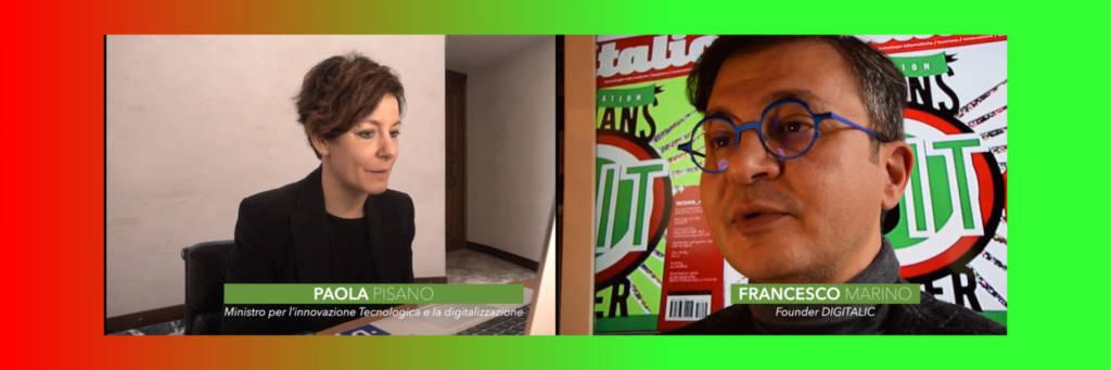 """Ministro Paola Pisano: """"Cosa può fare la tecnologia per l'emergenza e anche dopo"""""""