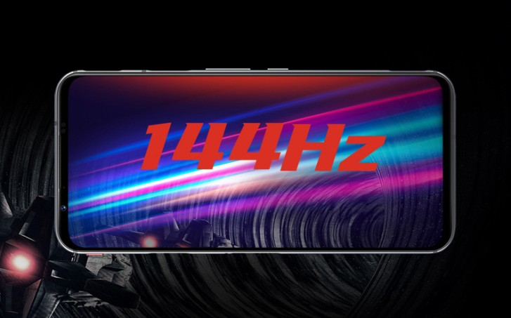 Red Magic 5G display