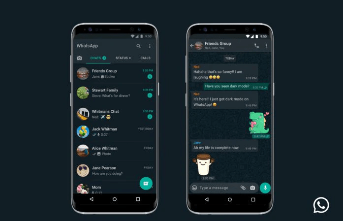 Dark Mode su Whatsapp