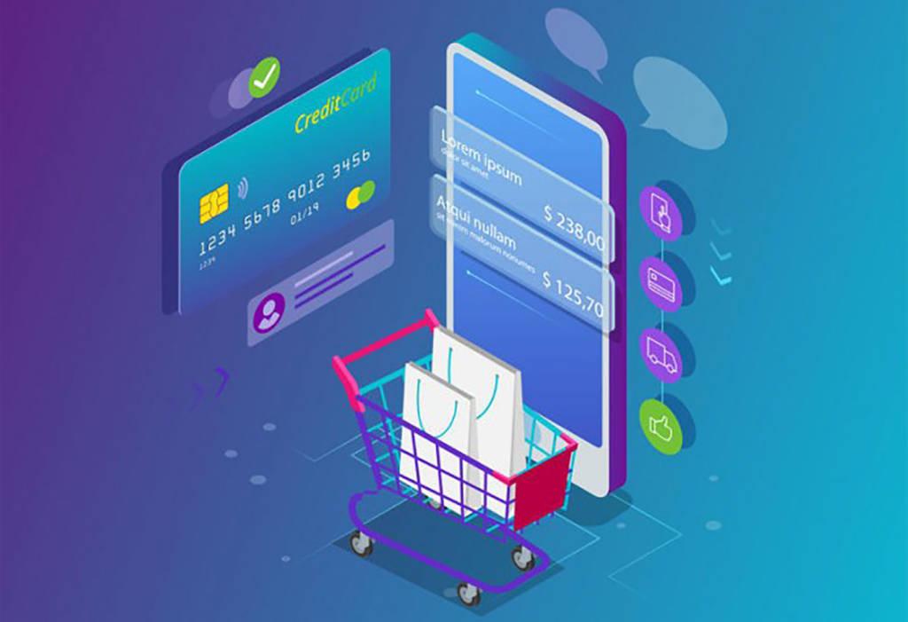 E-commerce shopping online coronavirus in crescita
