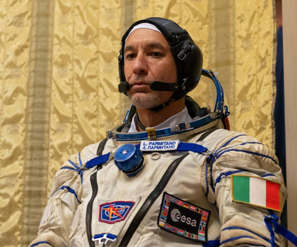 Luca Parmitano intervista
