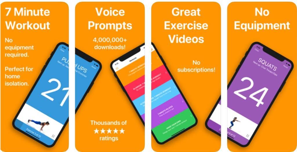 app gratuite per allenarsi a casa esercizi rapidi e intensi