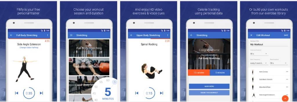 app fitness grafìtis per fare pilatres a casa