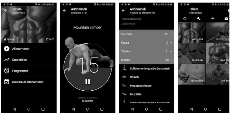 app per fare ginnastica in casa gratis