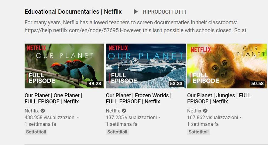 documentari netflix gratis