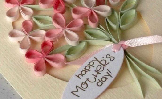 festa della mamma fiori stilizzati