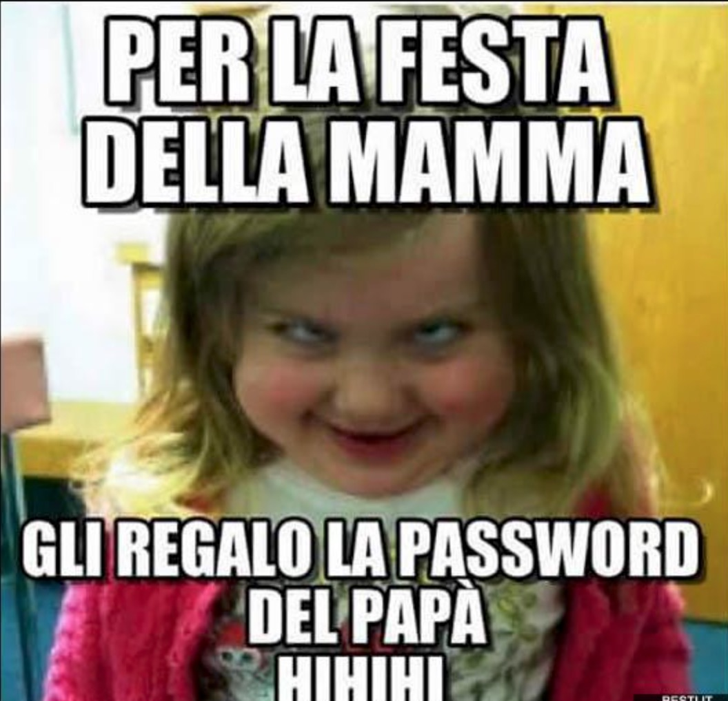 festa della mamma password