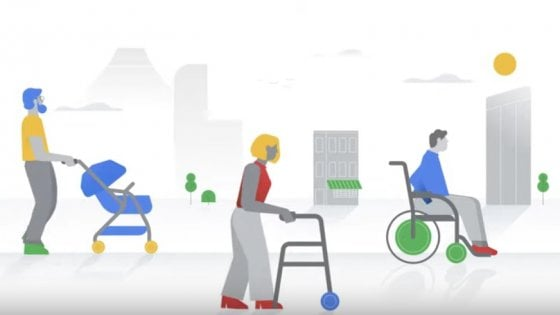 Google Maps per disabili