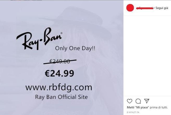virus dei Ray-Ban