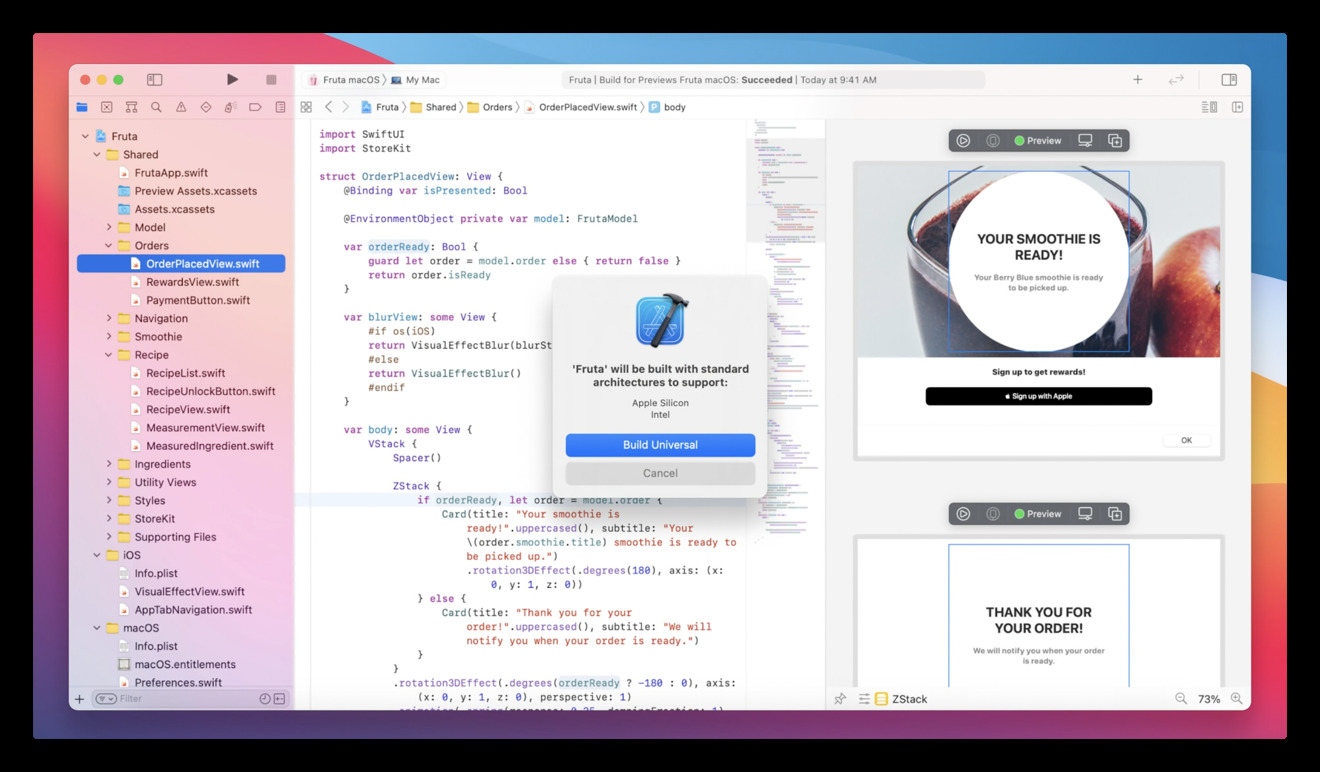 Apple Silicon Xcode