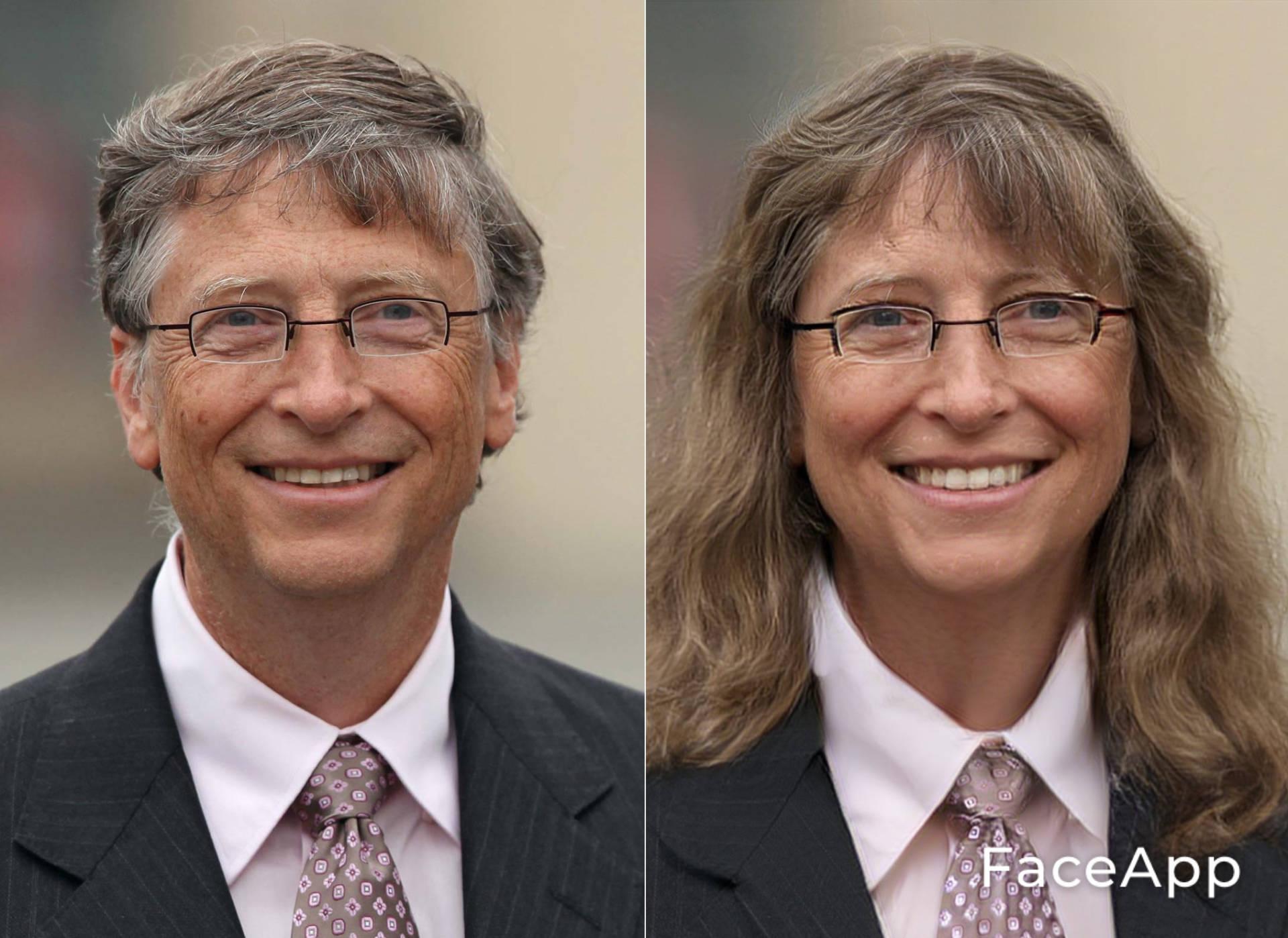 FaceApp Bill Gates