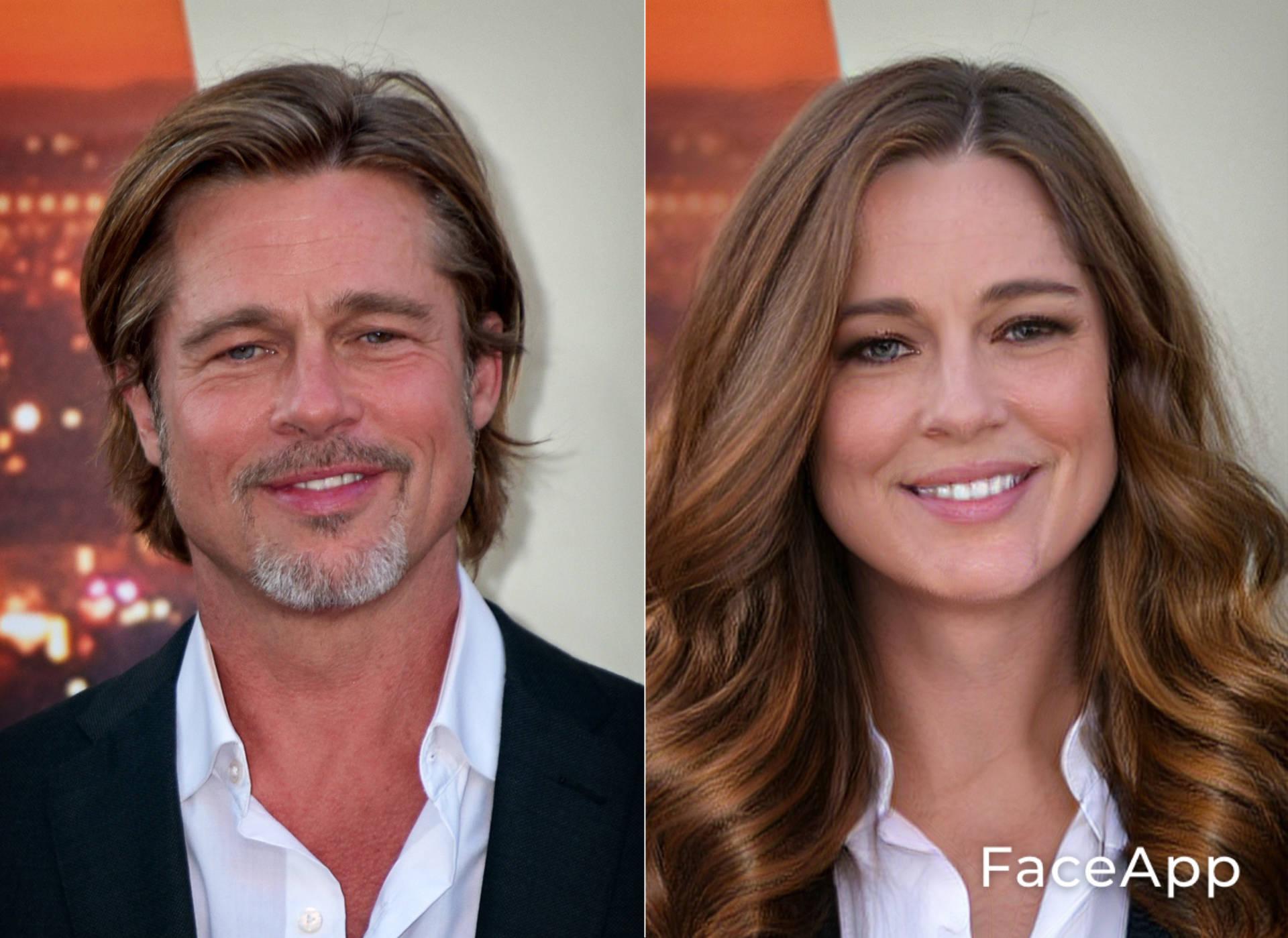 FaceApp Brad Pitt