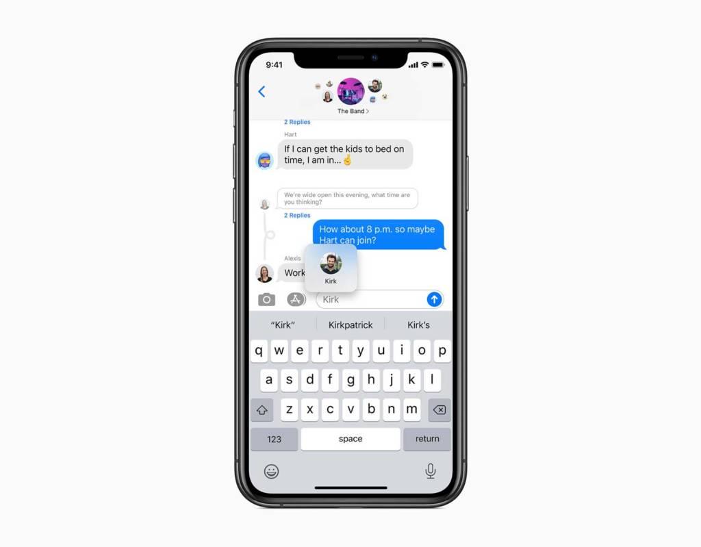 Messaggi iOS 14