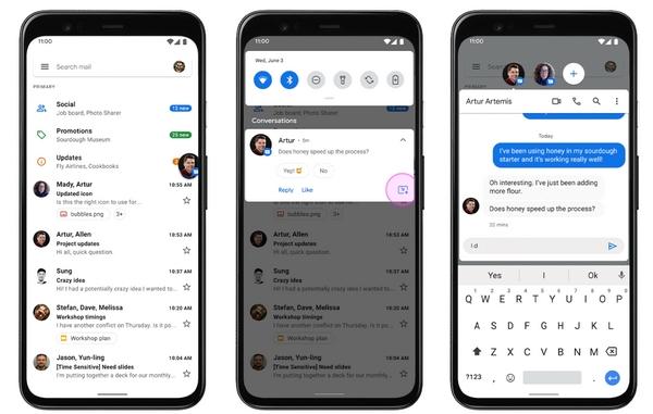 android 11 beta 2020 notifiche raggruppate