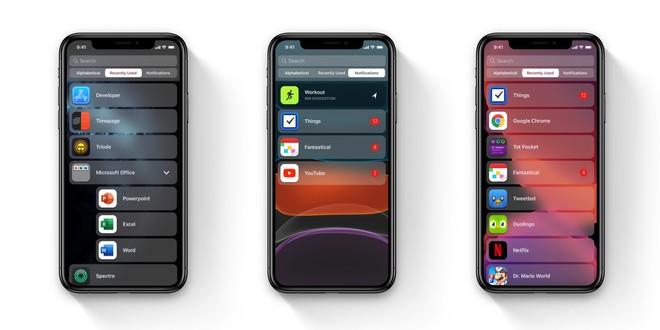 iOS 14 immagine concept