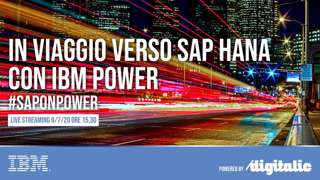 In viaggio verso SAP HANA con IBM Power
