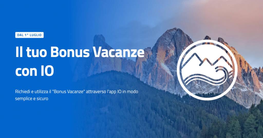 Bonus Vacanze app IO SPID
