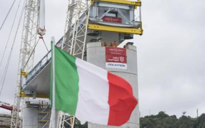 Ponte di Genova, 4 robot veglieranno sul nuovo viadotto San Giorgio