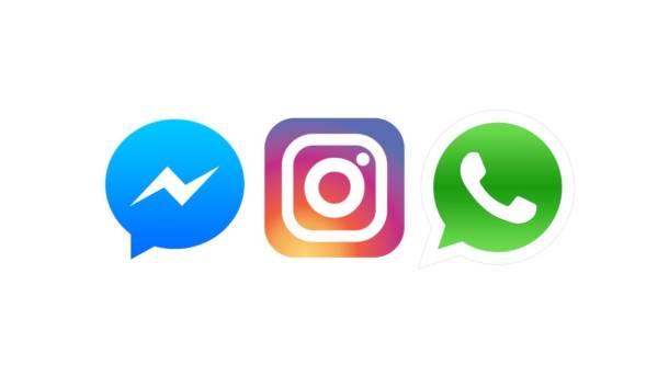 WhatsApp, Messenger e Instagram