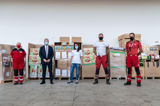 amazon dona alla Croce Rossa Italiana
