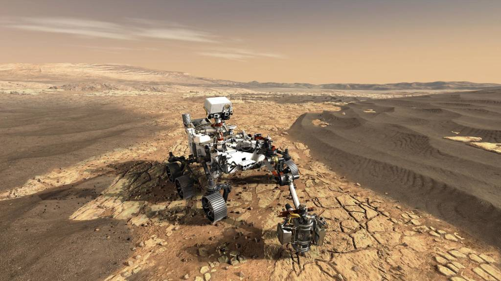 Mars 2020 Rover Perseverance NASA