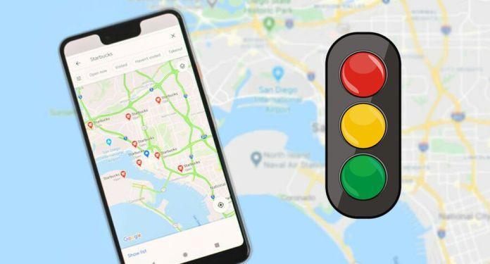 semafori su google maps