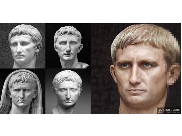imperatore Augusto con machine learning