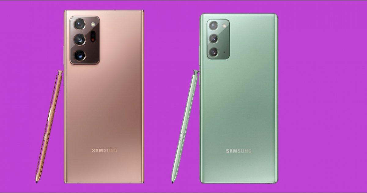 Samsung Galaxy Note 20: il powerphone è ufficiale, caratteristiche e prezzi