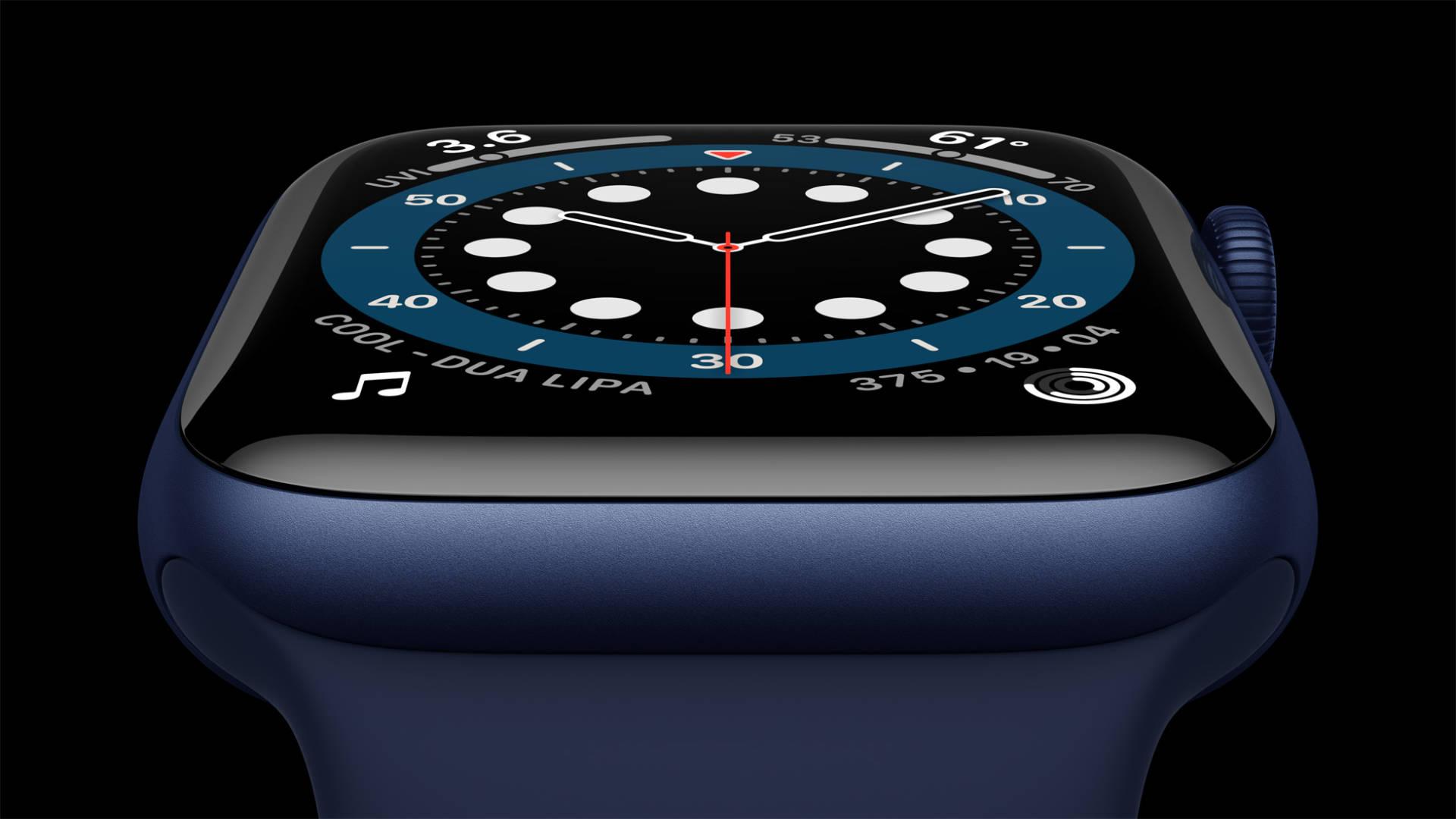 Apple Watch 6, le nuove funzioni: display always-on e monitoraggio ossigeno