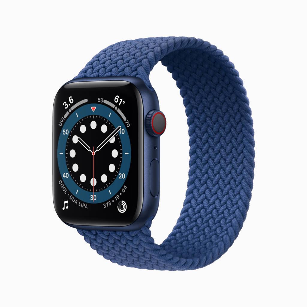 Apple watch 6 con il nuovo cinturino