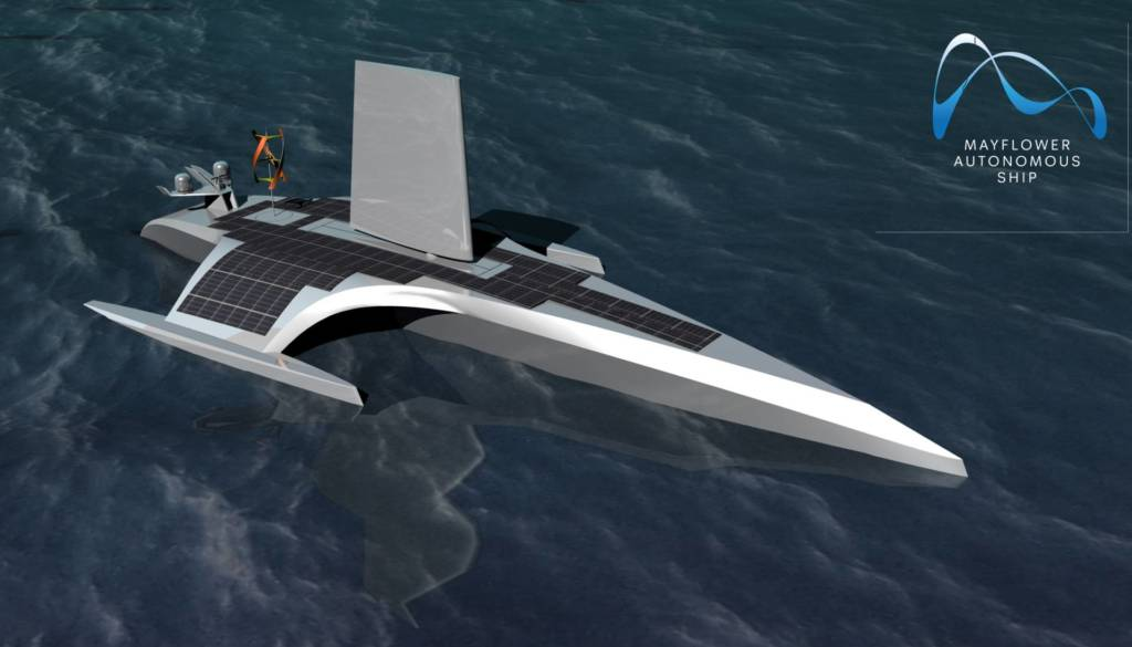 Barca a guida autonoma promare_ Mayflower4