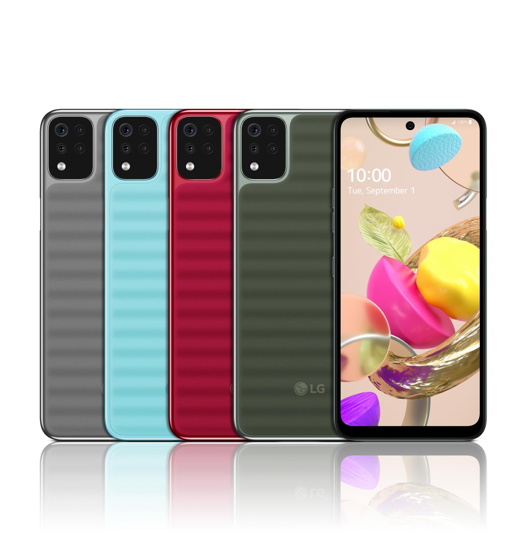 Smartphone da 100 a 200 euro: LG lancia due modelli della serie K