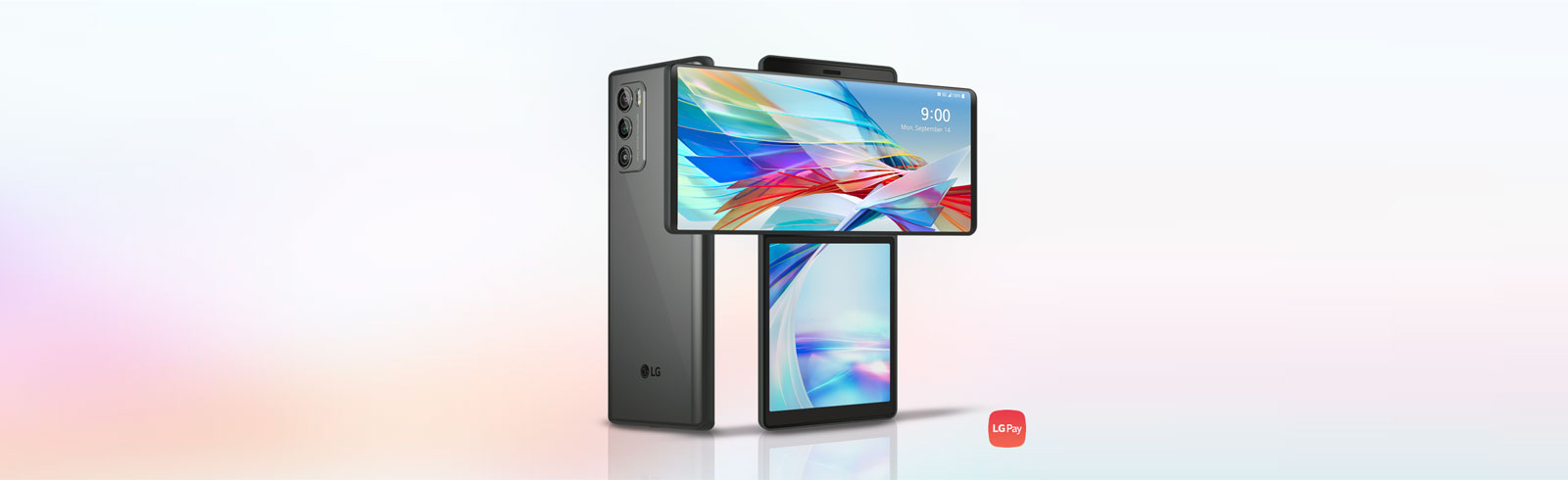 LG Wing: lo smartphone con schermo rotante