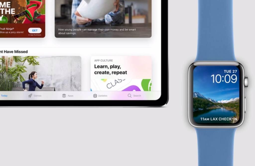 iPad Air e Apple Watch 2020