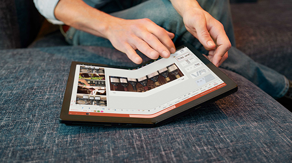 display Lenovo thinkpad x1 fold