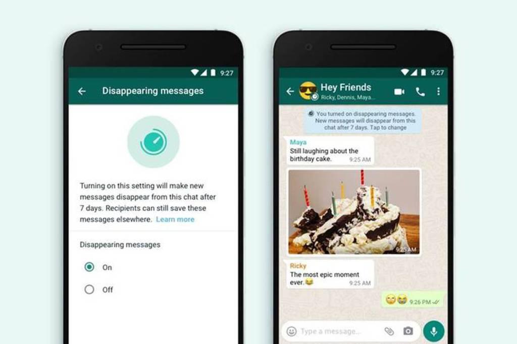 messaggi che si autodistruggono su whatsapp