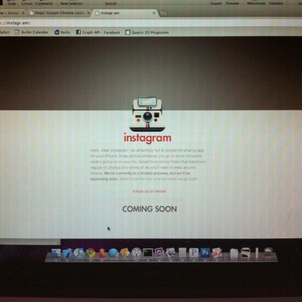 Instagram compie 10 anni: il primo sito web