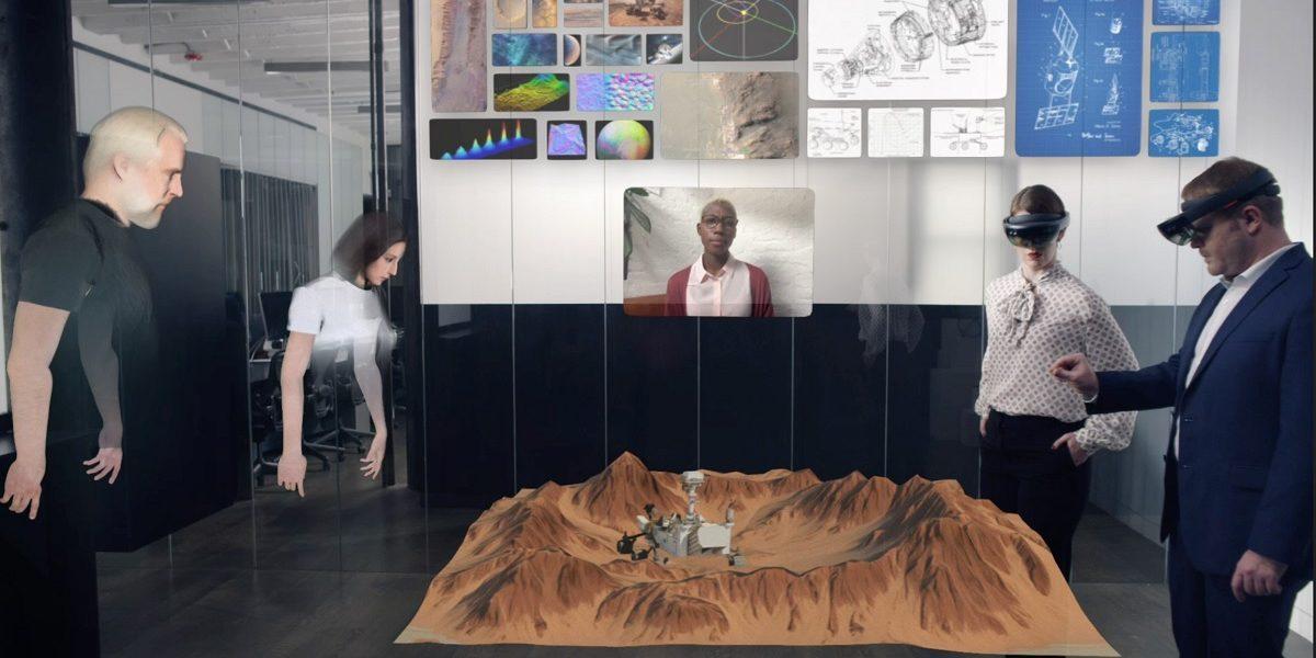 Smart working in 3D: ologrammi per lavorare coi colleghi