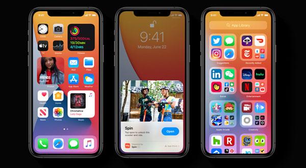 iOS14.1 immagine Apple