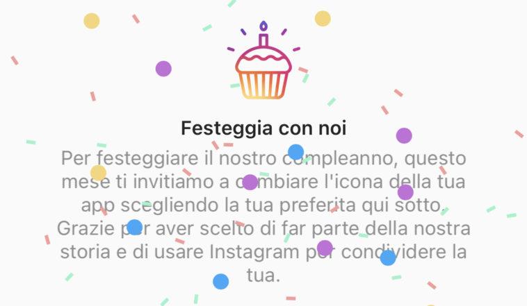 instagram festeggia 10 anni