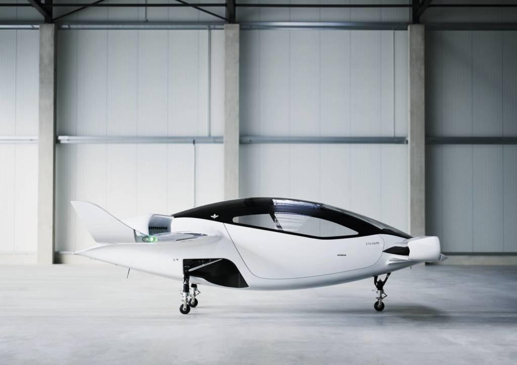 VTOL Lilium aereo elettrico