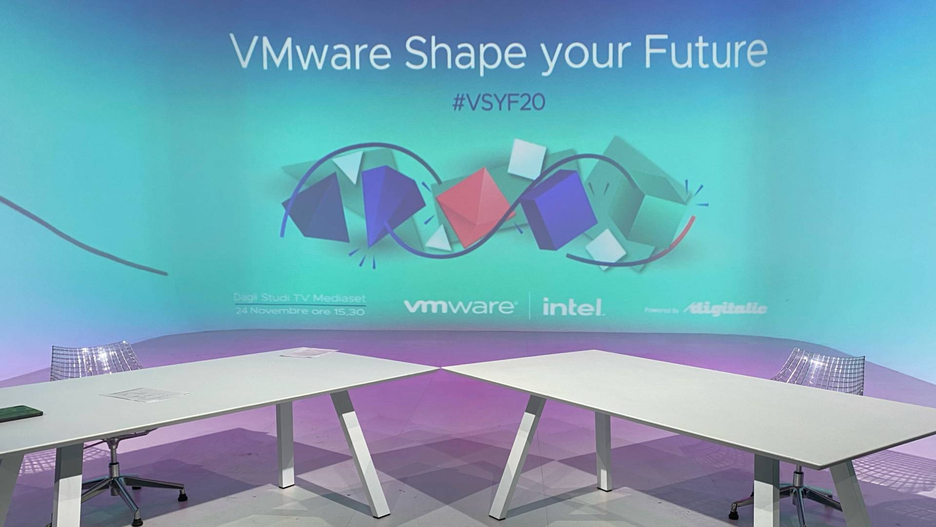 VMware Shape your Future 2020 powered by Digitalic, 24/11 ore 15,30