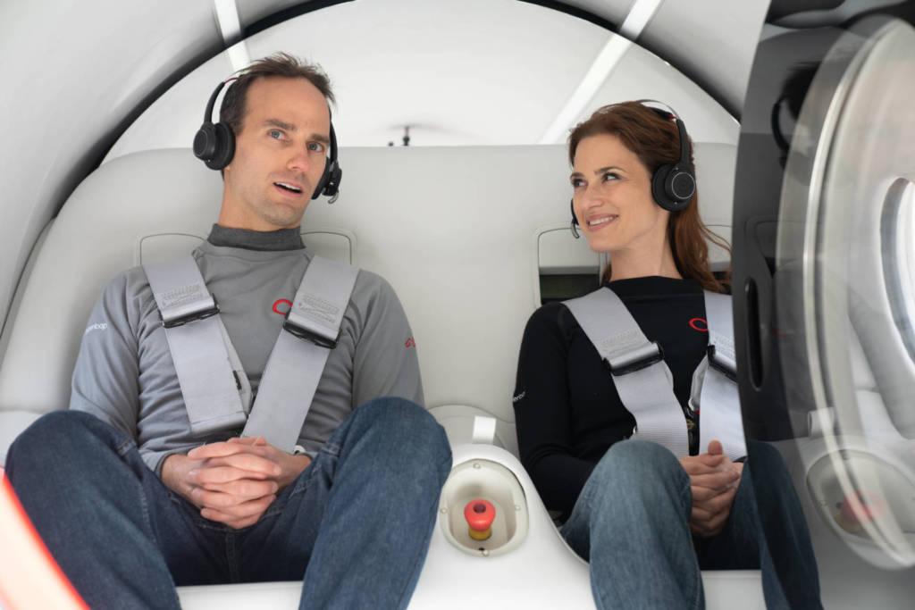 Virgin Hyperloop XP-2- test